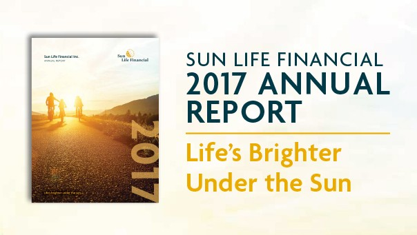 Sun Life Financial's 2017 Annual Report