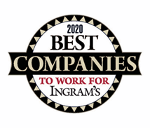 Ingram's 2020 Best companies to work for Badge