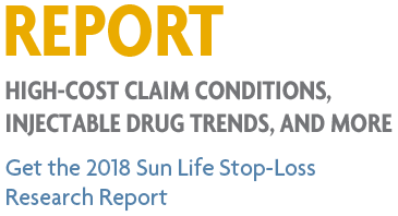 2018 Sun Life Stop-Loss Research Report: High-cost claims and injectable drug trends