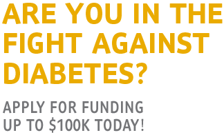 Team up against diabetes grant program. Apply today!
