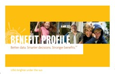 Sample Benefit Profile