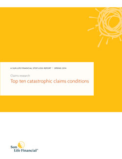 Download 'Top ten catastrophic claims conditions'