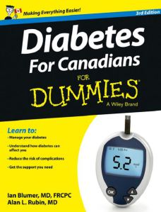 Book cover - Diabetes for Canadians for Dummies