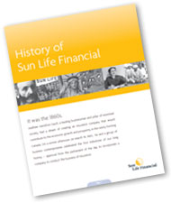 History of Sun Life Financial