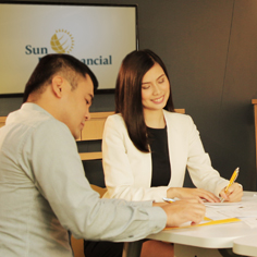 Shine Big with the wide variety of positions available at Sun Life