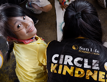 Be part of our journey to give back through Sun Life Foundation