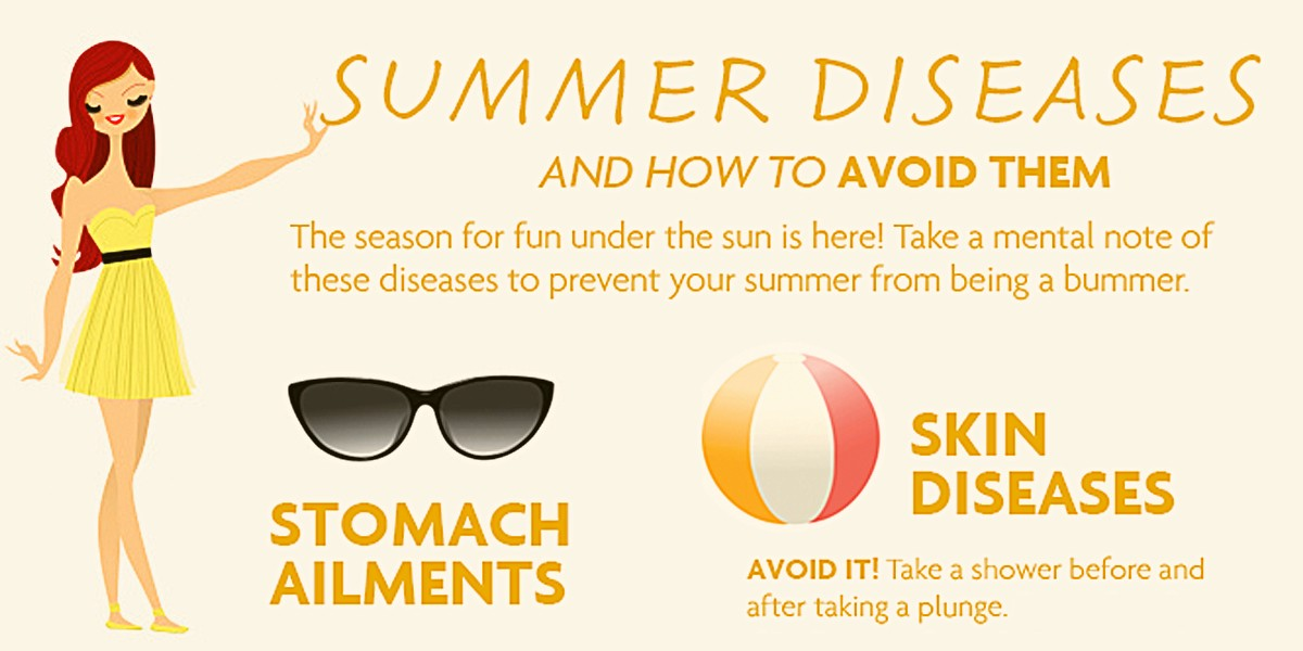 Summer Diseases and How to Avoid Them