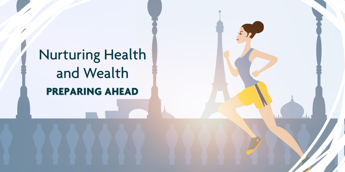 The Preparing Ahead life stage is all about nurturing health and wealth