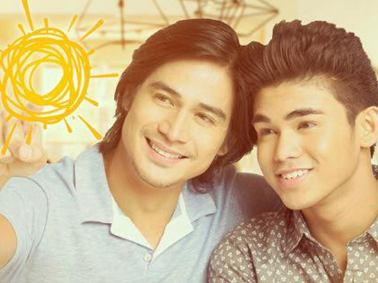 Piolo and Inigo Pascual chooses to live a brighter life
