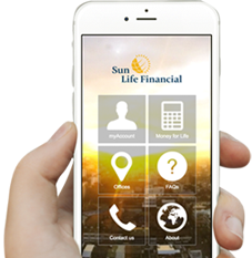 Download the Sun Life Philippines Mobile App