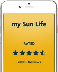 Download the my Sun Life Mobile app. Rated 4.5 stars with 3000 + reviews